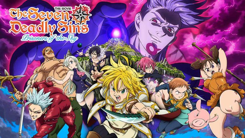 Download Anime The Seven Deadly Sins Movie Dual Audio English